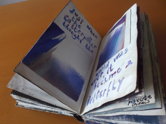 Sans Arriere-pensees    -Altered Book- $135